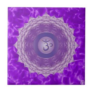 Crown Chakra Ceramic Tile