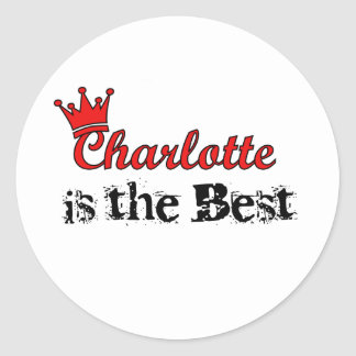 Crown Charlotte Stickers