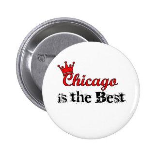 Crown Chicago Pinback Button