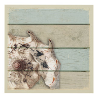 Crown Conch Panel Wall Art