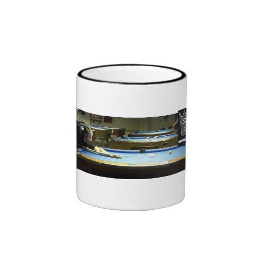 Crown Cues - Gene La Viness Ringer Coffee Mug