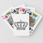 Crown de rey baraja cartas de poker