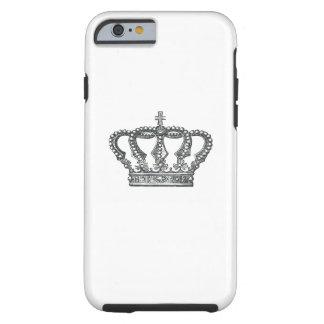 Crown de rey funda resistente iPhone 6