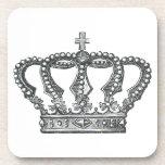 Crown de rey posavasos