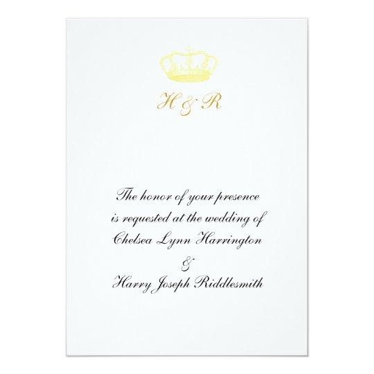 Crown Designs -  Gold Card
