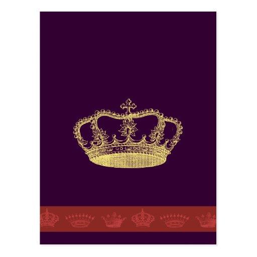 Crown Designs Postcard