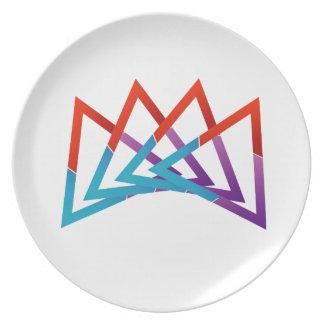 Crown Dinner Plate