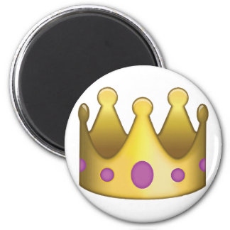 Crown emoji magnet