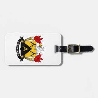 Crown Family Crest Tag For Luggage