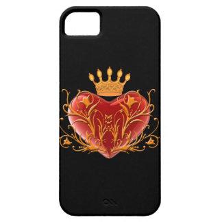Crown Filigree Heart iPhone 5G Case