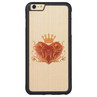 Crown Filigree Heart iPhone 6 Case