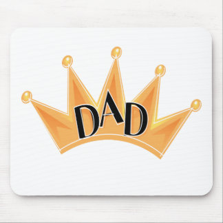 Crown For Dad Mouse Pad