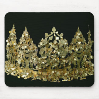 Crown from the excavations of the necropolis mouse pad