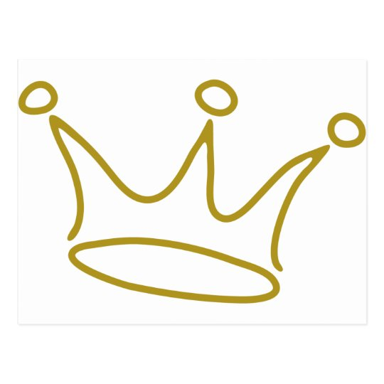 crown-gold-2 postcard