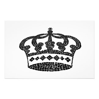 Crown graphic design stationery