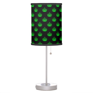 Crown Green Desk Lamp