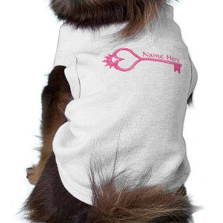 Crown Heart Key Pet Clothes