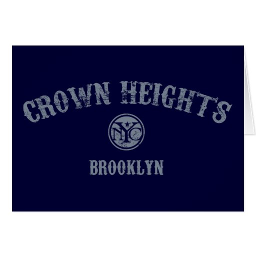 Crown Heights Greeting Card