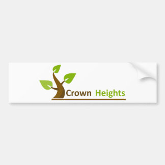 Crown Heights Tree #1 Car Bumper Sticker