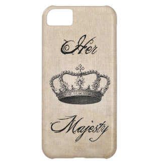 "Crown "" Her Majesty"" iPhone 5 Case"