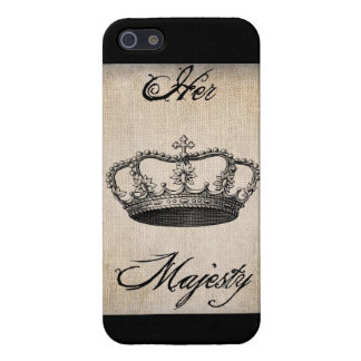 """Crown """"Her Majesty"""" iPhone SE/5/5s Cover"""
