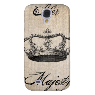 """Crown """"Her Majesty"""" Samsung Galaxy S4 Cover"""