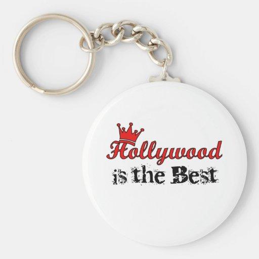 Crown Hollywood Keychain