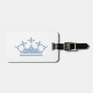 Crown Image fash Bag Tag