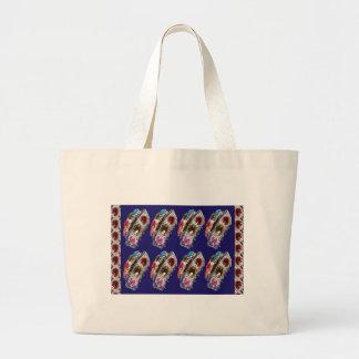 Crown Imitation Jewel Pattern KIDS Partyroom FUN Tote Bags