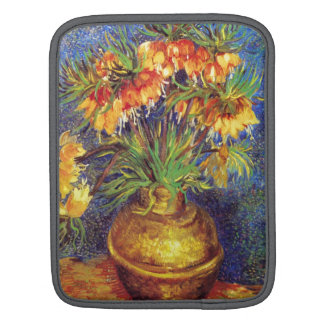 Crown Imperial Fritillaries in a Copper Vase iPad Sleeve