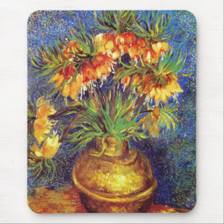 Crown Imperial Fritillaries in a Copper Vase Mouse Pad