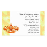 Crown in Gold Business Card