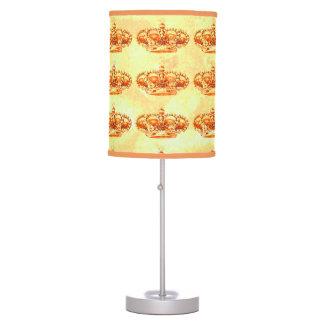 Crown in Gold Desk Lamp