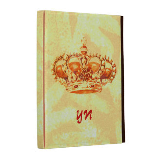 Crown in Gold iPad Folio Covers