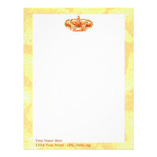 Crown in Gold Letterhead
