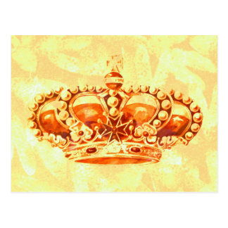 Crown in Gold Postcard