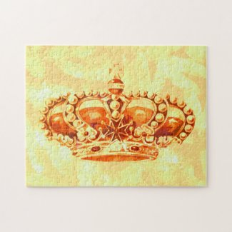 Crown in Gold puzzle