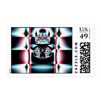 Crown Jewel Postage Stamp