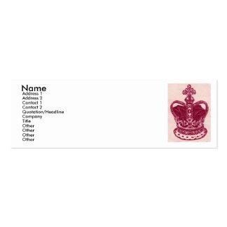 crown jewels mini business card