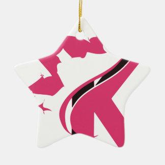 Crown K Logo Design BMI Ceramic Ornament