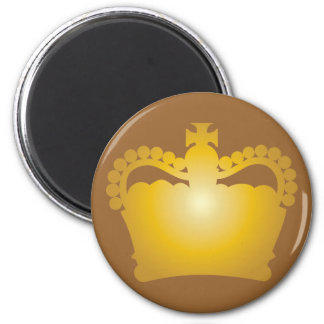 Crown - King Queen Royalty Royal Family Magnet