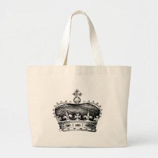 Crown Large Tote Bag