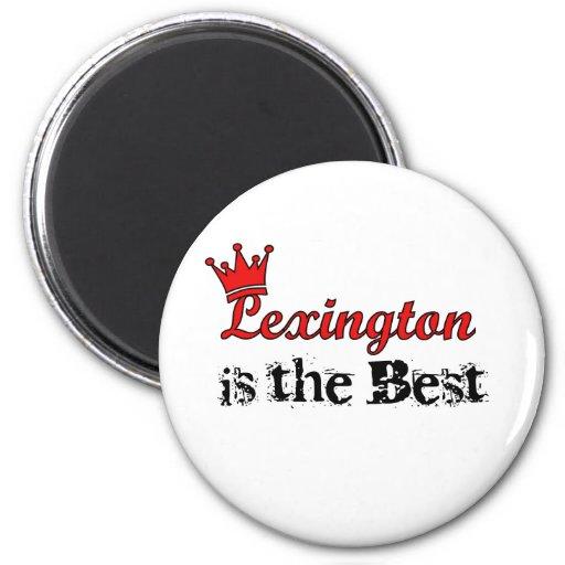 Crown Lexington 2 Inch Round Magnet
