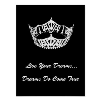 Crown Live Your Dreams Poster