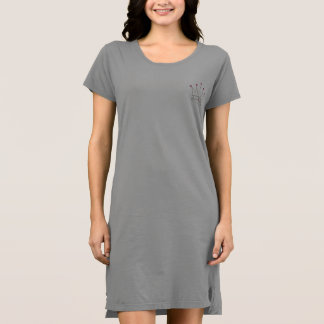 Crown Logo Shirt Dress