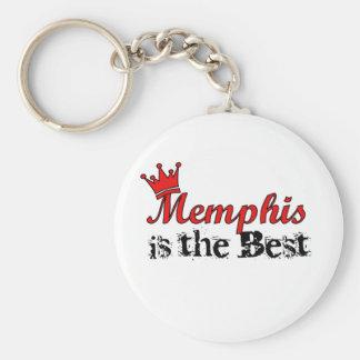Crown Memphis Keychain