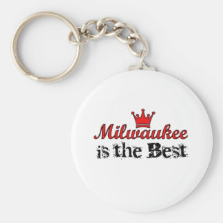Crown Milwaukee Keychain