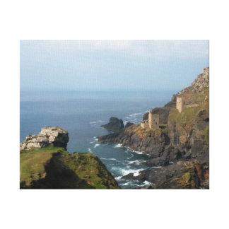 Crown Mines Botallack Cornwall England Gallery Wrap Canvas