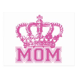 Crown Mom Postcard