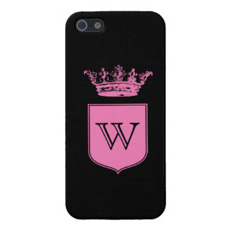 Crown Monogram Case For iPhone SE/5/5s
